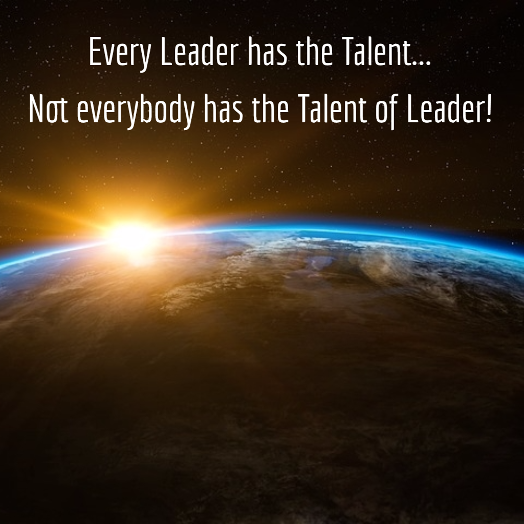 Talent to be a Leader